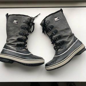 Sorel Tivoli Womens boots waterproof gray sz 8